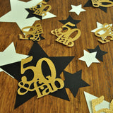 50 and Fabulous. 50th Birthday Decorations. Handcrafted in 1-3 Business Days. 50 Birthday. Star Confetti. Large Table Confetti. 36CT.