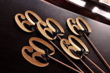 60th Birthday Centerpieces in Gold and Black. Ships in 1-3 Business Days. 60th Anniversary Party Centerpiece Set of 5.
