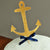 Anchor Cake Topper.  Ships in 1-3 Business Days.  Nautical Party Decorations.
