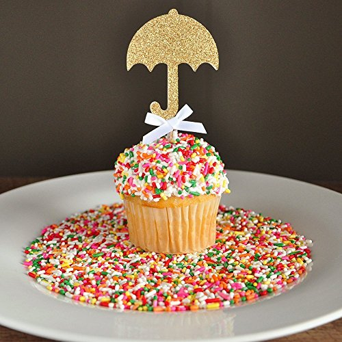 Baby Shower Decorations. Ships in 1-3 Business Days. Sprinkle Shower. Umbrella Cupcake Toppers 12CT.