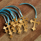 Baptism Decorations. Ships in 1-3 Business Days. Christening Cross Favor Tags 10CT.
