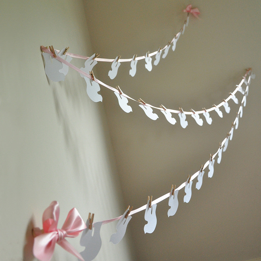 Baptism Decorations.  Ships in 1-3 Business Days.  Christening Dove Garland.
