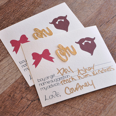 Gender Reveal Party Prediction Cards 10CT. Ships in 1-3 Business Days. Gender Reveal Party Ideas. Beards or Bows