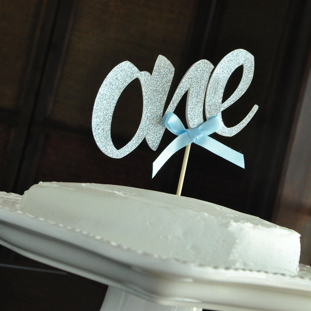 Birthday Boy One Cake Topper. Handcrafted in 1-3 Business Days. One Smash Cake Topper for Boys.