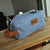 Blue Dopp Kit for Groomsmen. Travel Toiletry Bag. Bu9DK.