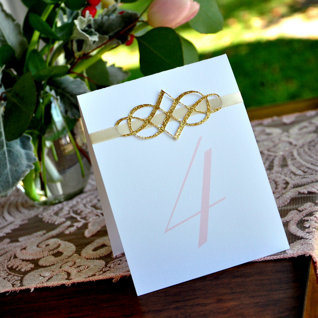 blush table numbers handcrafted in 1 3 business days table number