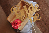 Bridal Brunch Decorations. Ships in 1-3 Business Days. Bridal Shower Cake topper. Bride to Be Cake Topper.