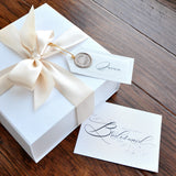 Custom Listing for Beca.  Proposal Box Cards.