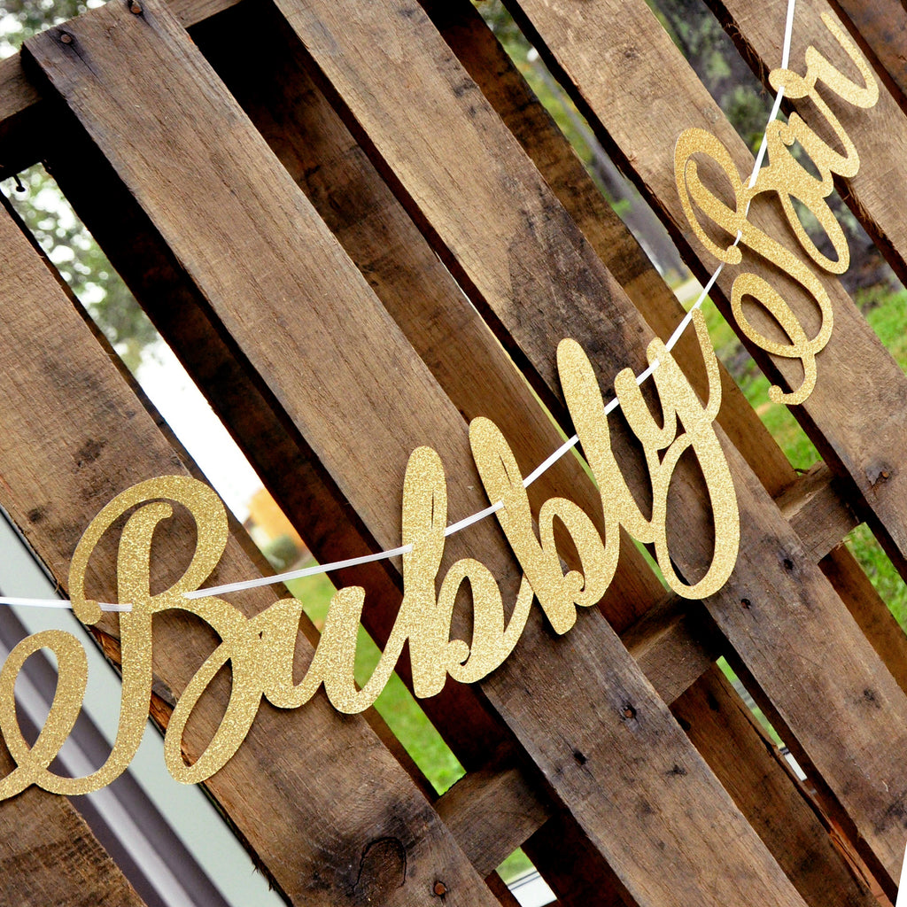 Bubbly Bar Sign. Bubbly Bar Banner. Drinks Sign.