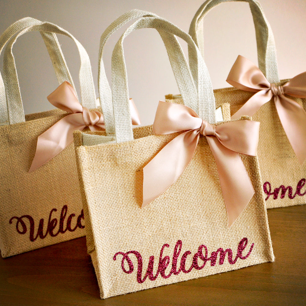 Gift Bags Wedding: Welcome Gift Bags. Handcrafted In 1-3 Business Days