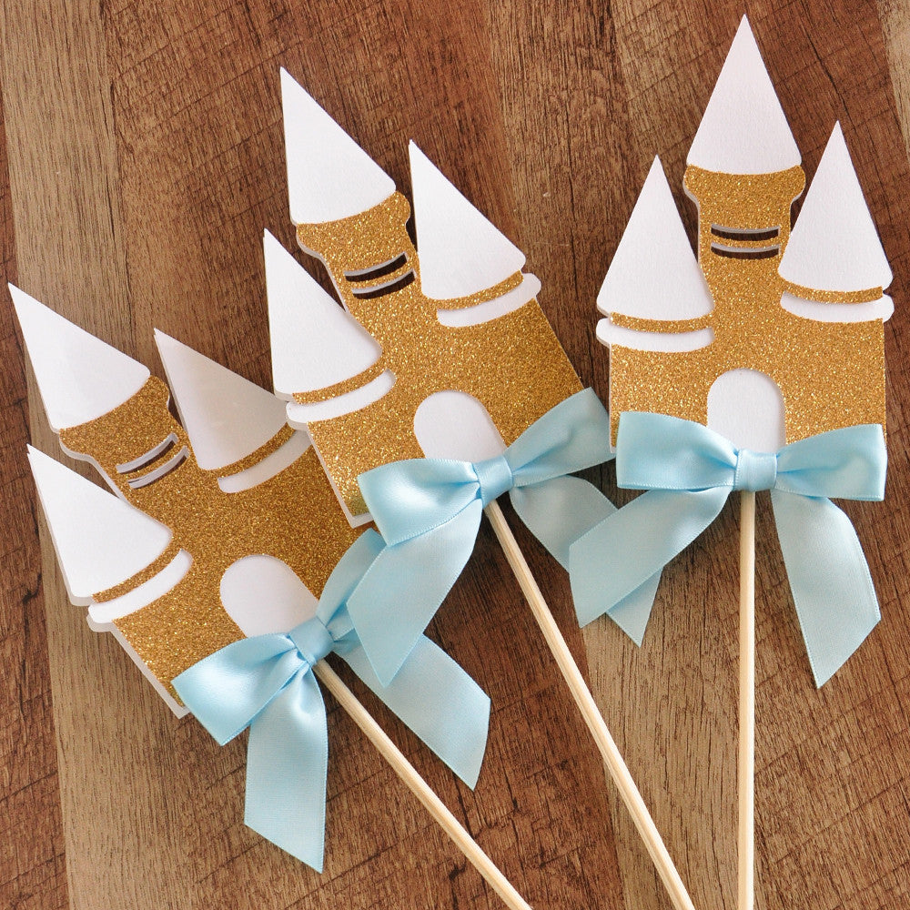 Cinderella Party Wands. Ships in 1-3 Business Days. Castle Centerpiece. Princess Party Centerpiece 3CT.