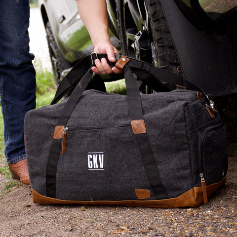 Corporate Gifts for Employees. Custom Travel Bag for Men. (Qty. 1) Overnight Duffel Bag. Corporate Holiday Gifts. G22WD.