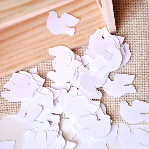 Baptism Decorations.  Ships in 1-3 Business Days.  Christening Dove Table Confetti 50 CT.