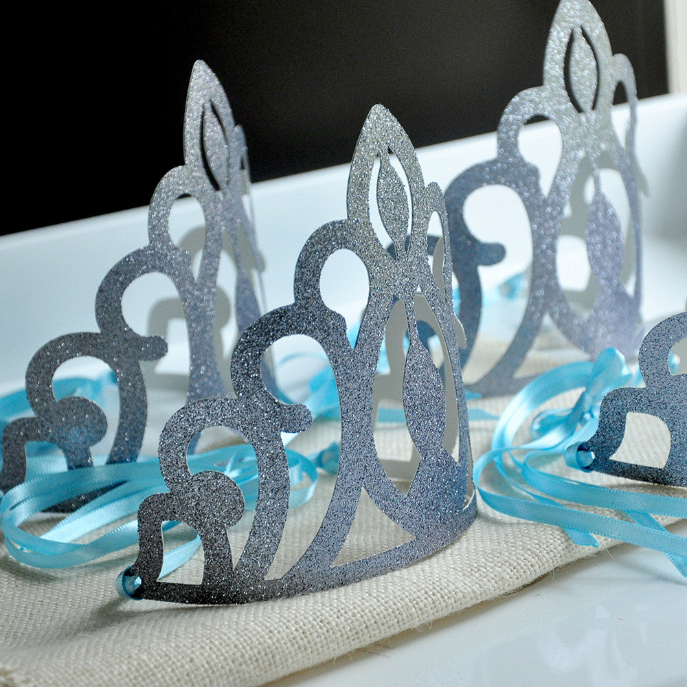 Elsa Crowns. Ships in 1-3 Business Days. Frozen Party Favors. Frozen Birthday Party Decorations.