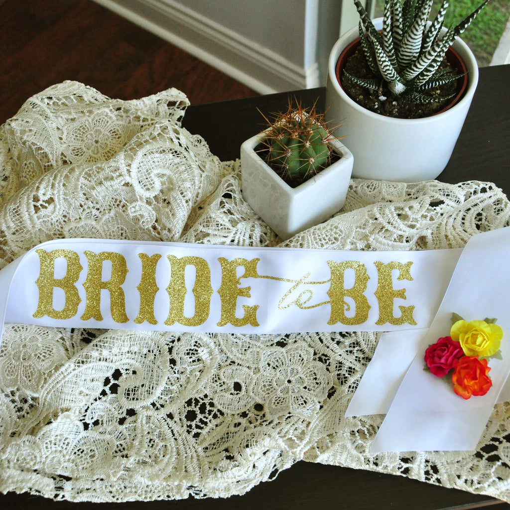 Final Fiesta Bride to Be Sash. Bachelorette Sash. Bridal Shower Sash.