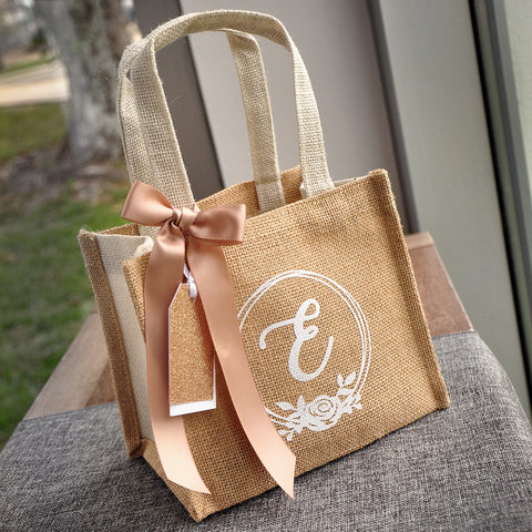 Pre Order ONLY- Available in April: Flower Girl Gift Bag (Qty. 1).  Flower Girl Gift Ideas. Flower Girl Gift Wrap.