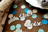 Frozen Birthday. Personalized Confetti. (50ct) Elsa Party Decorations. Frozen Birthday Party Decorations.
