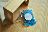 Frozen Birthday Party Decoration Confetti 25CT.  Ships in 1-3 Business Days.  Light Blue Glitter Snowflake Confetti.