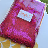 Fuchsia Table Runner. Ships in 1-3 Business Days. Sequin Table Runner. Bridal Shower Table Runner.