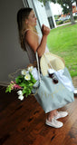 Pre-Order Only - Available Mid August. Bridesmaid Beach Bag (Quantity: 1).  Personalize Beach Tote Bag. Bridesmaid Gift Ideas. Wedding Party Gift. G22BT.