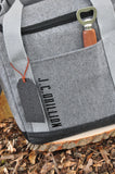 Groomsmen Cooler. Groomsmen Gift. Silver Cooler with Bottle Opener. G12WC. S12WC.