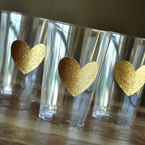 1st Birthday Party Supplies. Ships in 1-3 Business Days. Set of 10 Heart Party Cups.