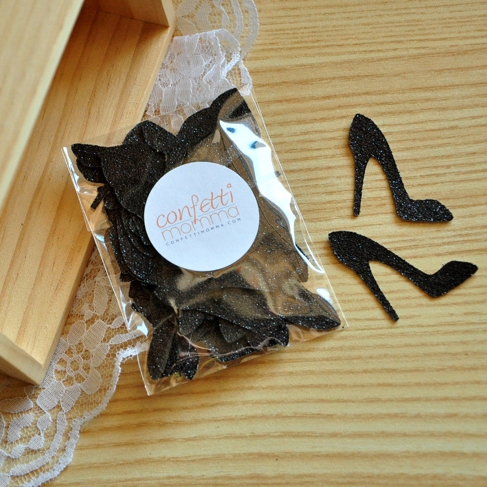 Bachelorette Party Decorations. Ships in 1-3 Business Days. High Heel Confetti 50CT.