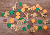 Jungle Baby Shower Decorations. Ships in 1-3 Business Days. Jungle Confetti Mix (50CT).
