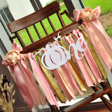 Little Pumpkin High Chair Banner Girl. Made in 1-3 Days. Pumpkin 1st Birthday Banner.