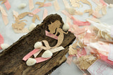Mermaid Party Confetti. (3 Pack Set). Sea Shell Décor. Mermaid Theme Party. Mermaid Birthday.