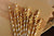 40th Birthday Decoration Straws 10CT. Ships in 1-3 Business Days. Metallic Gold Straws with Gold 40.