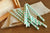 Mint Green Party Decor Straws 10CT. Ships in 1-3 Business Days. Mint Green Paper Party Straws. Striped Party Straws.