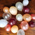 Rose Gold Balloon Mix. Crafted in 1-3 Business Days. Winter Onederland Party Balloons. Mixed Color Balloons. 16CT.