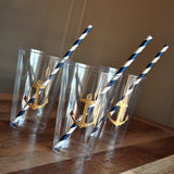 Nautical Baby Shower Cups. Ships in 1-3 Business Days. Set of 10 Party Cups.