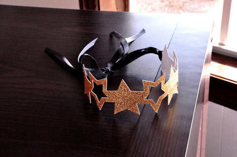 Star Headband.  Handcrafted in 1-3 Business Days.  Star Crowns as Party Favors.  Twinkle Twinkle Little Star Birthday Party.