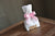 1st Birthday Girl Decorations.  Ships in 1-3 Business Days.  Mini Party Favor Bags with Age and Bows 10CT. W36MFB.