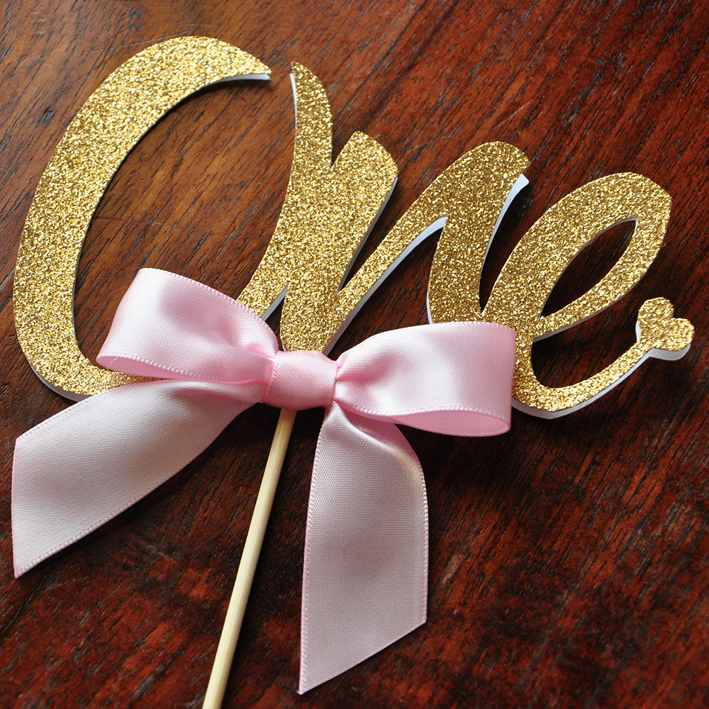 One Cake Topper Ships in 13 Business Days 1st Birthday Cake