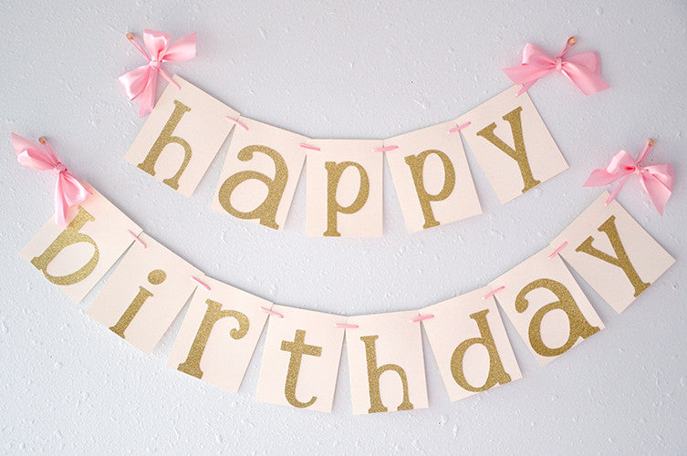 pink and gold birthday party decorarations ships in 1 3 business days confetti momma