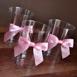 Princess Party Cups 10CT. Ships in 1-3 Business Days. Party Cups with Bows.