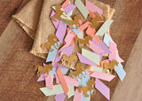 Unicorn Party Decorations. Ships in 1-3 Business Days. Pastel Unicorn Confetti Mix. Pastel Party Decor.