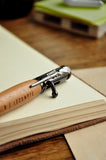 Personalized Pen. Gift for Groomsmen. Qty. 1.  Bullet Pen. Engraved Pen. Man Gift. M525BP.