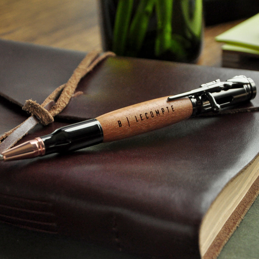 Best Man Gift. Bullet Pen. (Qty. 1) Personalized Pen. Best Man Groom Gift. M525BP.