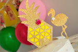 Pineapple Cake Topper. Pineapple Decor. Handmade in 1-3 business days. Tropical Summer Party Ideas.