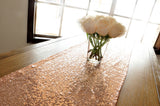 Rose Gold Table Runner. Ships in 1-3 Business Days. Sequin Table Runner. Wedding Table Runner. Rose Gold Party Decor.