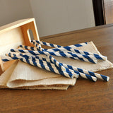 Royal Blue Straws. Ships in 1-3 Business Days. Blue Striped Paper Straws for Royal Blue Party Decorations 10 CT.