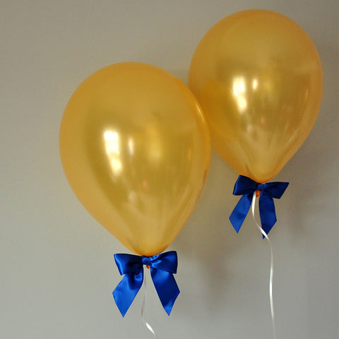 Royal Prince Baby Shower Decorations.  Ships in 1-3 Business Days.  Balloons with Bows 8CT + Curling Ribbon.
