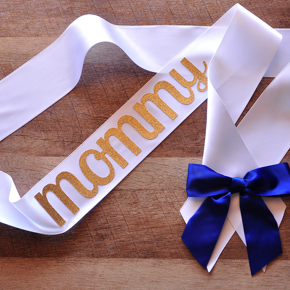 Mommy To Be Sash For Royal Prince Baby Shower. Ships In 1 3 Business