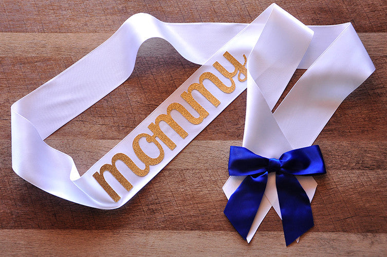 Mommy to Be Sash for Royal Prince Baby Shower. Ships in 1-3 Business Days.