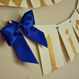 Royal Prince Banner.  Ships in 1-3 Business Days.  Royal Prince Baby Shower Decorations.