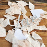 Engagement Party Love Confetti. Made in 1-3 Business Days. Champagne and Silver Love Confetti. Silver Bridal Shower Ideas.